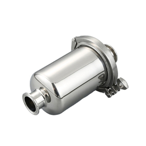 Sanitary Stainless Steel Tri Clamp Short Inline Wort Strainer
