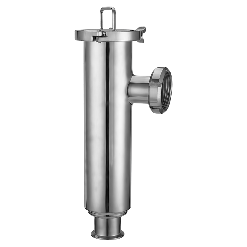 Hygienic Stainless Steel Right Angle Clamp Type Filter with 150mesh SUS316L