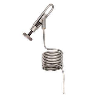 Stainless Steel Pigtail Sampling Coil for Knob Style Sampling Valves