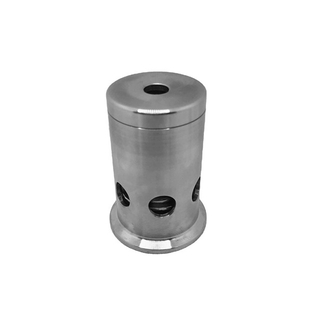 SS304 Stainless Steel Tri Clamp 15 psi Fixed Pressure Relief / Vacuum Valve