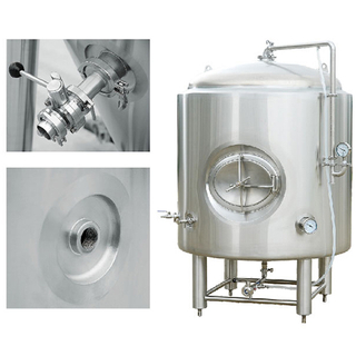 5 bbl Stainless Steel Jacketed Brite Tank