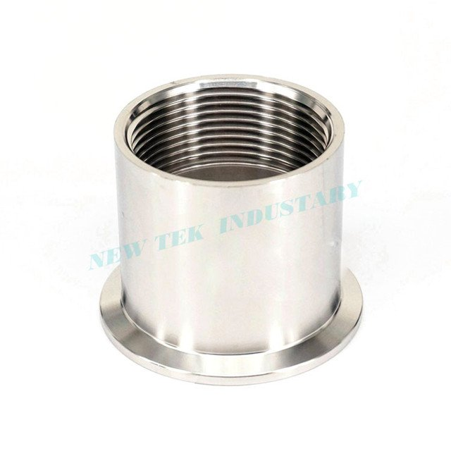 Stainless Steel Female BSPP Tri-Clamp Adapter