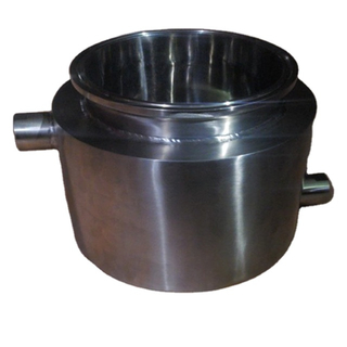 Stainless Steel Tri-Clamp Jacketed Splatter Platters