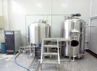 300L Stainless Steel Brewhouse Mash Tun