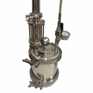 135g Capacity Top Filled Closed Loop Extractors w/ Spatter Platter Stainless Steel 304