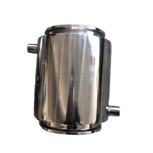 Sanitary Stainless Tri Clamp Fully Jacketed Material Column