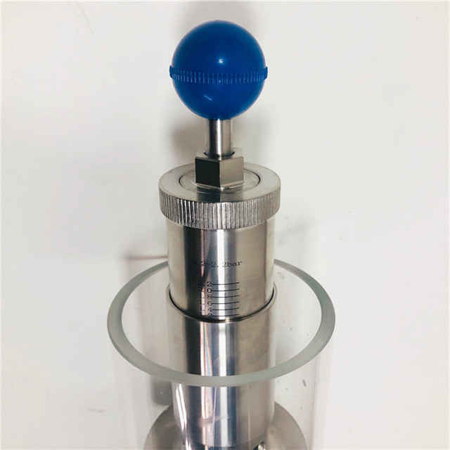 Stainless Steel 2.2 Bar Tri Clamp Bunging Valve Pressure Relief Valve