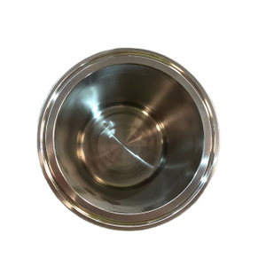 Stainless Steel Tri Clamp Extractor Base Welding Bottom
