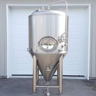 Stainless Steel Dimple Jacketed Conical Fermenters