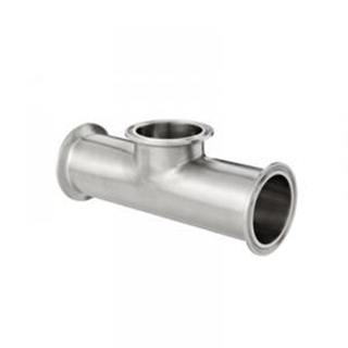 Sanitary Stainless Steel Tri-Clamp Instrument Tee