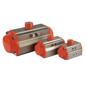 Horizontal Aluminum Alloy Pneumatic Rotary Actuator with Solenoid Valve