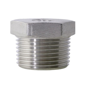 Stainless Steel Hexagon Plug 150LB Threaed Fitting