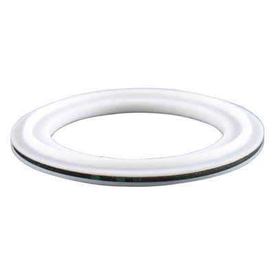Sanitary Tri-Clamp Envelope Gasket PTFE w/ EPDM Unflanged