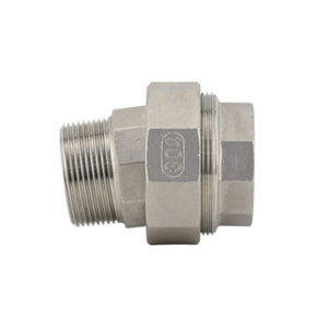 Stainless Steel Female to Male Conical Union 150LB Threaed Fitting