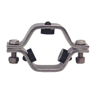 Sanitary Stainless Steel 304 Hexagonal Tube Hanger with Grommets