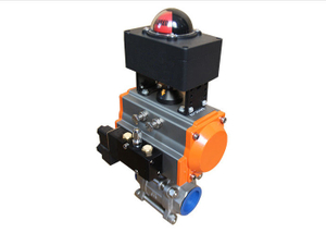 Pneumatic Rotary Actuator with Solenoid Valve Air Filter Regulator