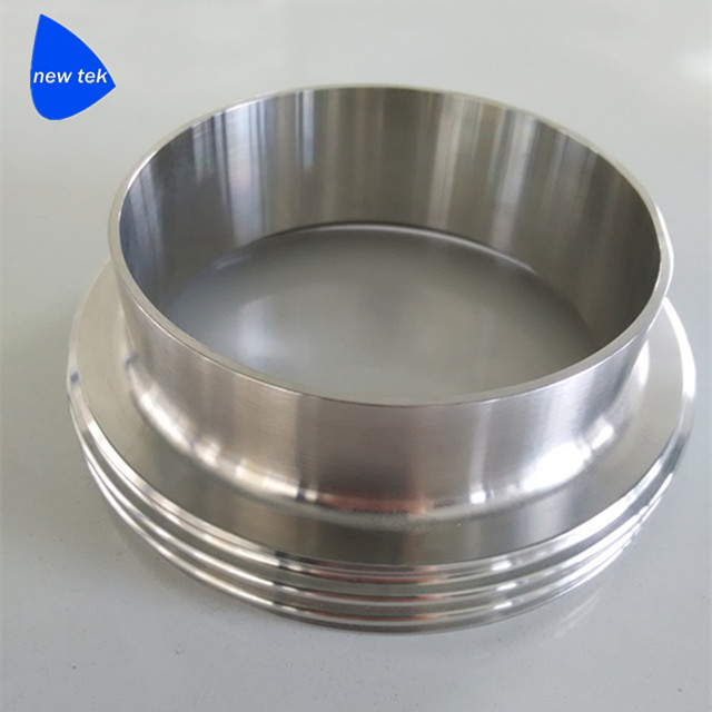 Stainless Steel Brewery SMS Hygienic Welding Male Fittings