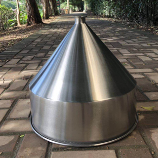 Food Grade Stainless Steel Tri Clamp Conical Hopper