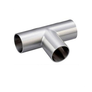 Sanitary Weld Long Tees Stainless Steel 304/316L Polished