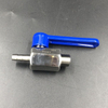 Stainless Steel Mini Ball Valve w/ Long Lever Handle