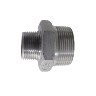 Stainless Steel Reducing Nipple 150LB Threaed Fitting