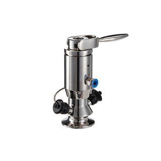 Sanitary Stainless Steel Clamp Pneuamtic Actuated Aspetic Sampling Valve