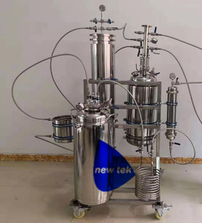 Stainless Steel 15LB Closed Loop Butane Extraction Fully Jacketed