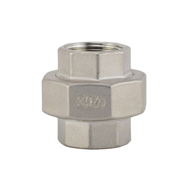 Stainless Steel Female/Female Conical Face Union 150LB Threaed Fitting