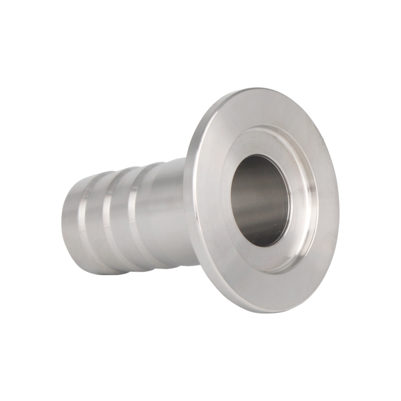 Stainless Steel KF to Rubber Hose Adapter Vacuum Flange Fittings
