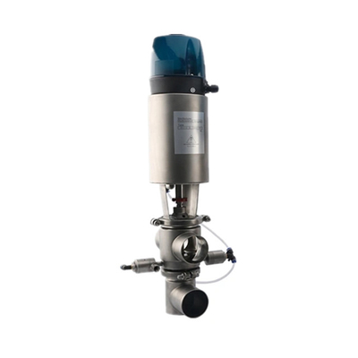 Hygienic SS316 C-top Pneumatic Mix-proof Valve with CIP Cleaning Valve